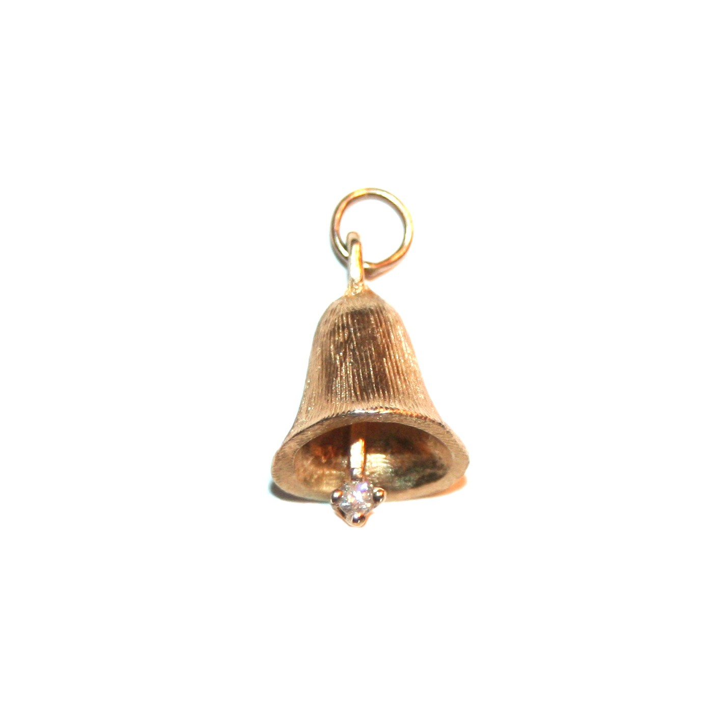 Estate Diamond Bell Charm