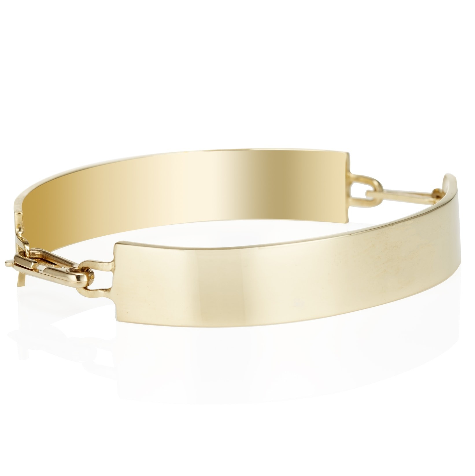 Double ID Chain Bangle