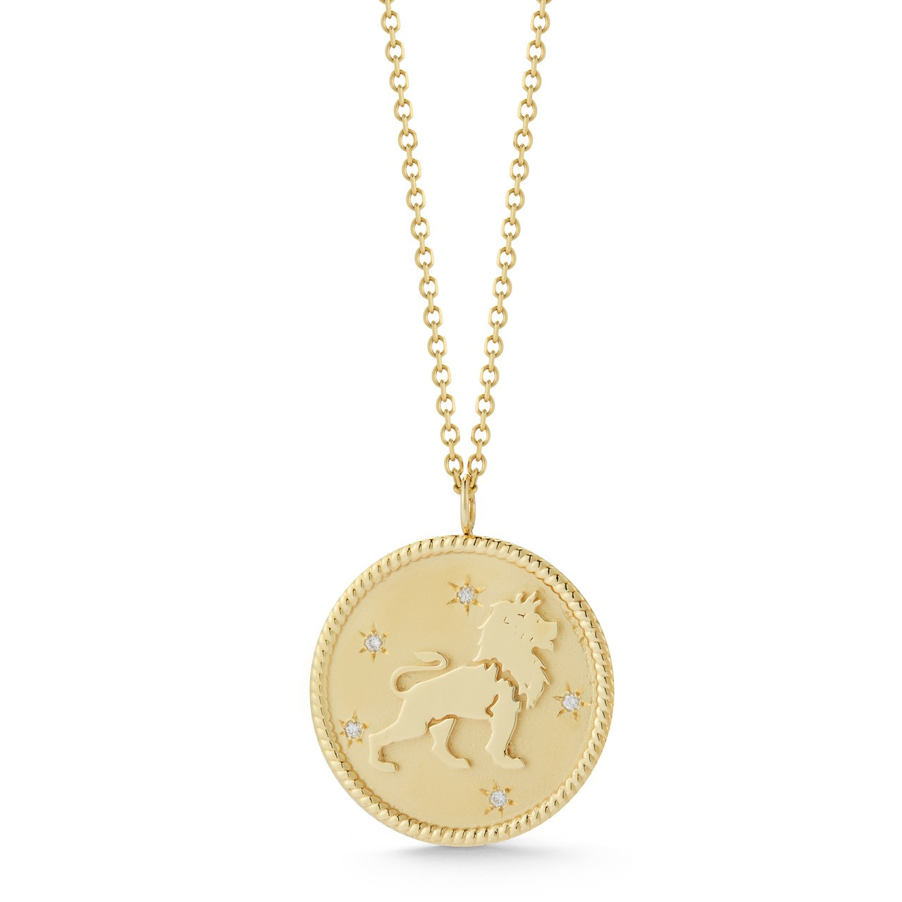 Zodiac Medallion with Chain