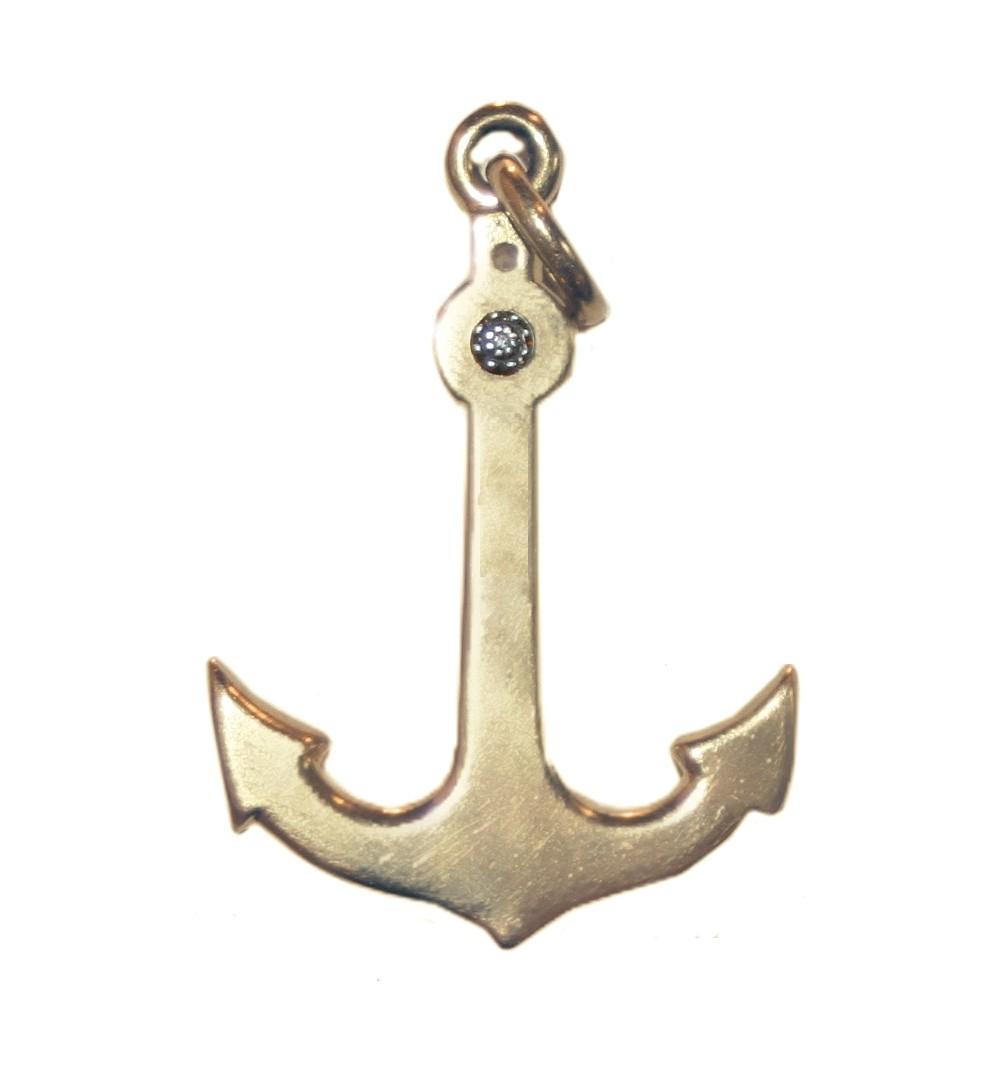 Estate Anchor Charm