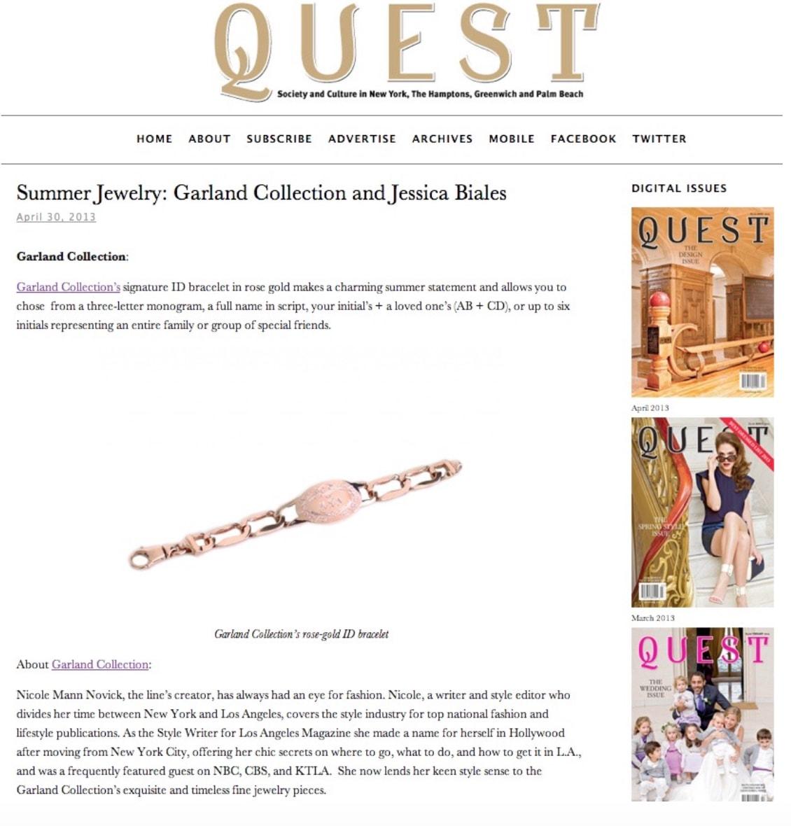 Quest April 2013