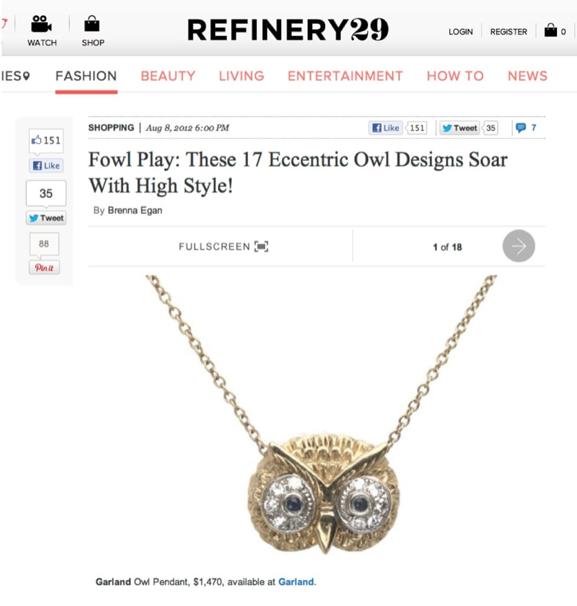 Refinery29 August 2012