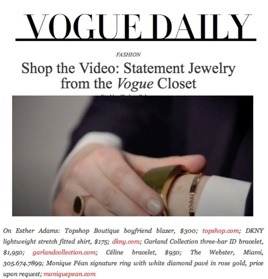 Vogue.com April or May 2013